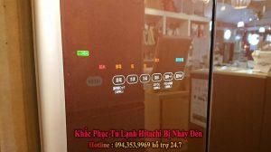 khắc phục tủ lạnh hitachi bị nháy đèn